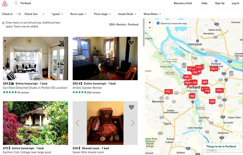 COURTESY PHOTO - In 2016, Airbnb hosted about 300,000 travelers in Portland. The company has hundreds of hosts across the Rose City.