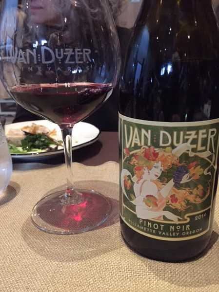 Van Duzer Vineyards was hosting a pre-release party for its 2013 Alchemy Pinot Noir at the event.