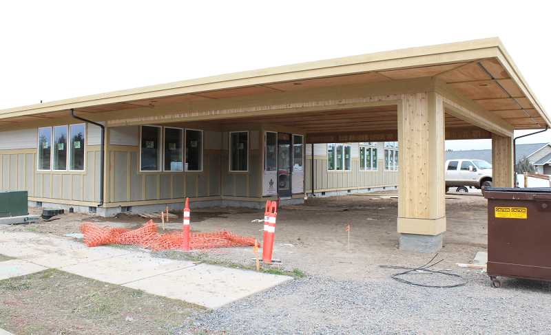 HOLLY M. GILL - The new Madras Physical Therapy building, at the corner of McTaggart Road and J Street, will be finished sometime in May.