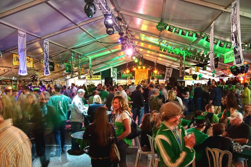 COURTESY PHOTO - Party-goers have been celebrating St. Patrick's Day at Kells in Portland for nearly three decades. This year there will be a lot more than Guinness being poured, as Portland brewers try their hand at specialty Irish brews.