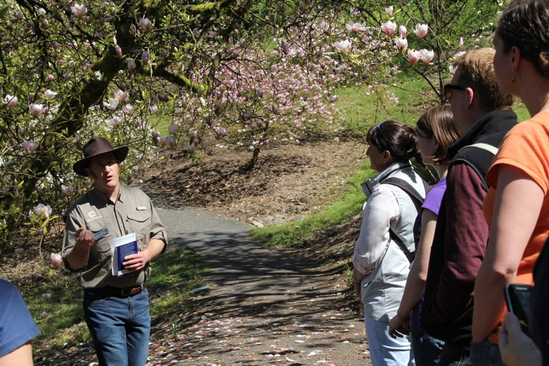 COURTESY: HOYT ARBORETUM - Tours are led by the likes of curator Martin Nicholson. Volunteer guides are needed for spring and summer.