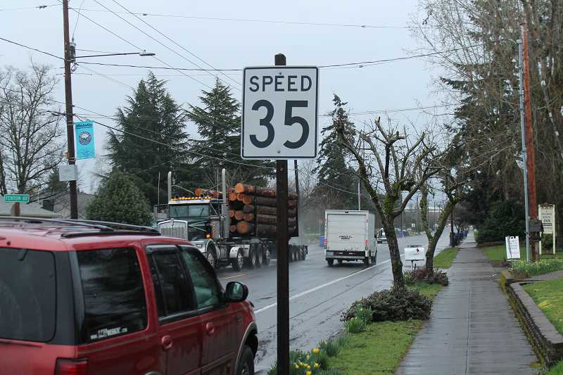 Three sections of OR 211 through Molalla nearly a year overdue for speed limit reduction