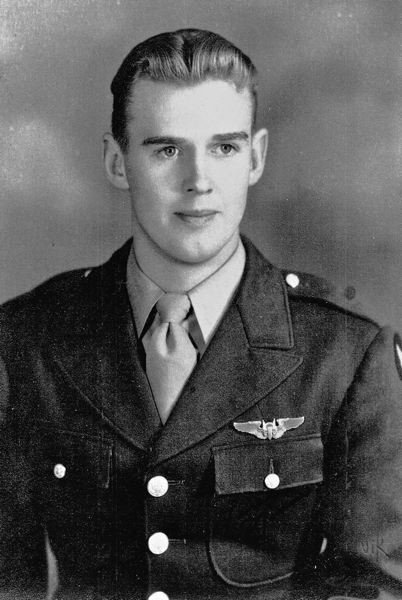 CONTRIBUTED - Norman joined the Army Aircorps after he was drafted at age 18. He spent two and a half years with the service.
