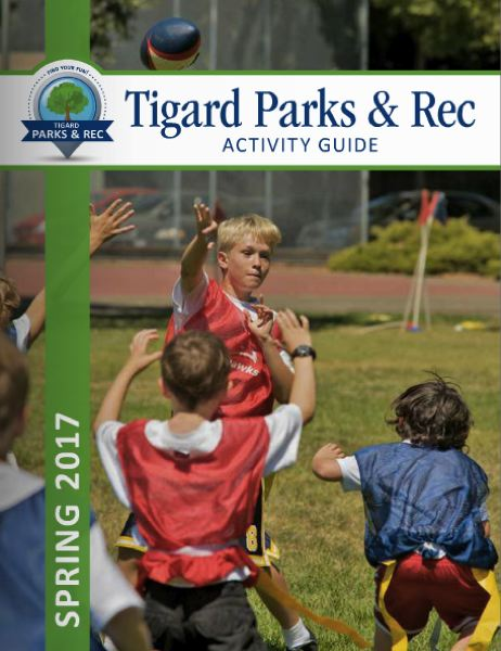 COURTESY OF THE CITY OF TIGARD - Tigard's activity guide for the spring season is now available online.