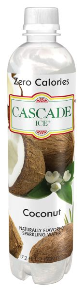 COURTESY PHOTO: UNIQUE BEVERAGE CO. - A Gresham woman is suing the company that makes Cascade Ice because she says the company's coconut water doesn't contain any coconut at all.