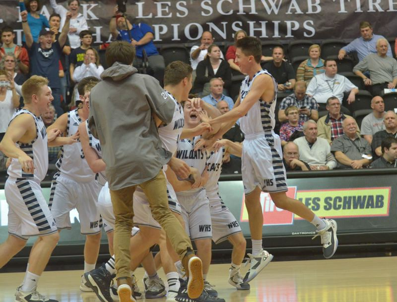 Photo from Wilsonville's state championship win.