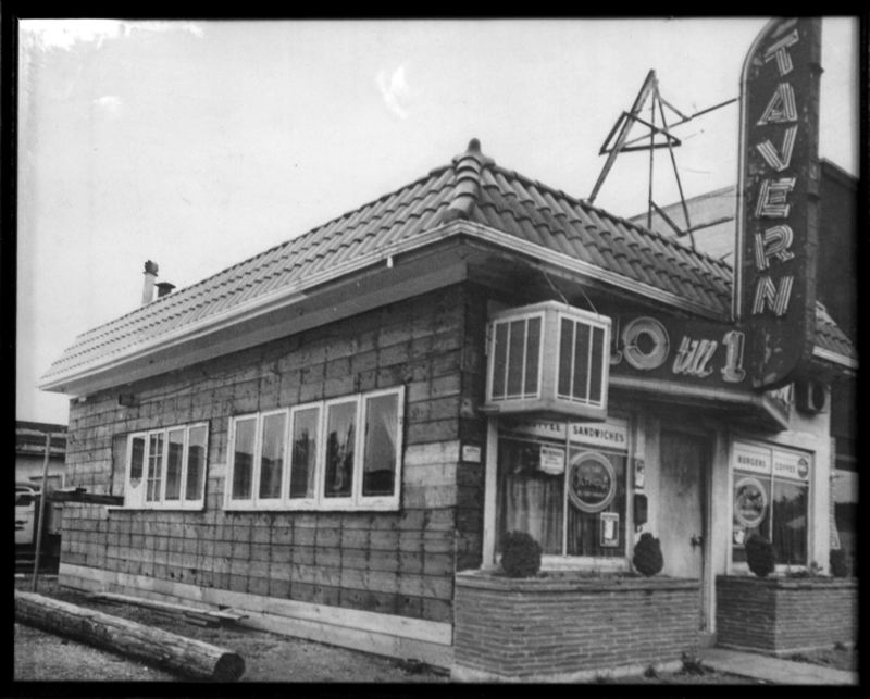 PHOTO COURTESY STANICH'S - The Original 10 till 1 Tavern was located in what is now the Stanich's parking lot. George and Gladys Stanich started cooking in 1949 with a simple menu that wasnt all that different from todays' choices.