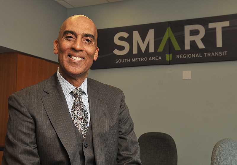SPOKESMAN PHOTO: VERN UYETAKE - With more than 30 years of transit experience under his belt, Dwight Brashear is excited to come make his mark as SMARTs new transit director.