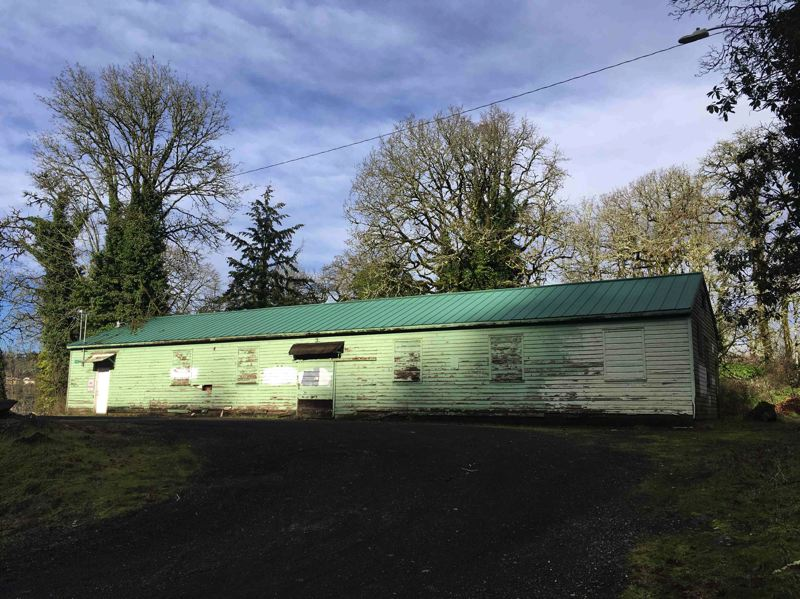 MCLOOUGHLIN NEIGHBORHOOD ASSOCIATION - The Oregon City Community Cannery, where citizens could go to have their produce preserved, was once a Camp Adair building.
