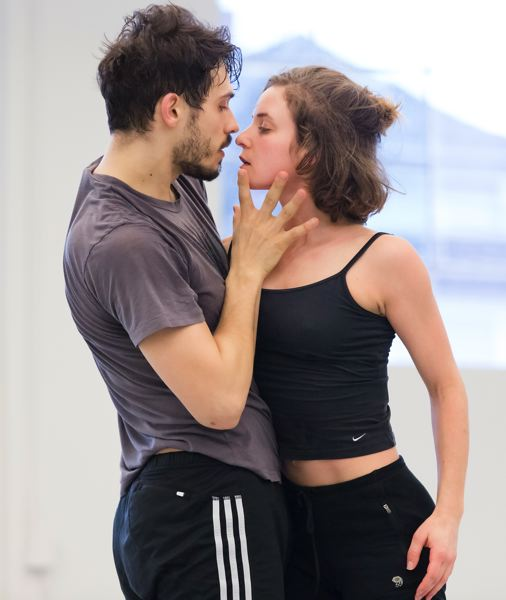 COURTESY: BLAINE TRUITT COVERT - Two of the Northwest Dance Project stars, Andrea Parson and Elijah Labay, show chemistry in their roles in 'Carmen.' Parson plays Carmen and 'it goes to the depth of really powerful emotions,' she says.