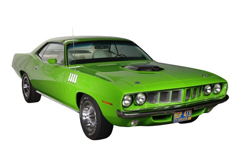 COURTESY WORLD OF SPEED - A 1971 Hemi 'Cuda will be icluded in the  Amercian Muscle Cars exhibit that opens April 6 at the World of Speed.