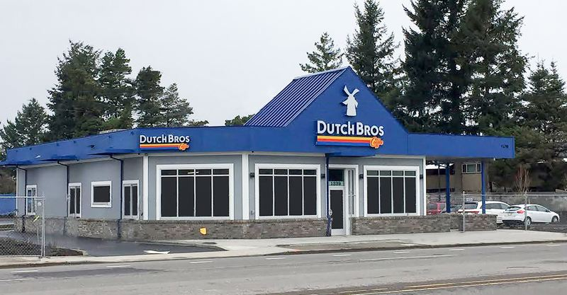 FILE PHOTO - The new Dutch Bros location is at 1239 N.E. Kane Drive