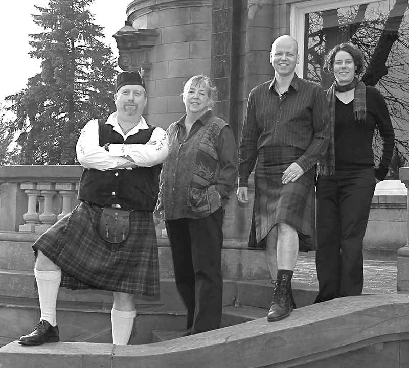 SUBMITTED PHOTO - The Celtic music of Beltaine will fill the Canby Public Library on Saturday, March 18, at 2:30 p.m. as part of this month's Music in the Stacks program.
