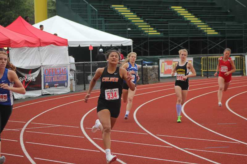 PIONEER FILE PHOTO - Last year as a freshman, Irma Retano ran the 400 and 3,000 at the state meet, as well as Culver's two relay teams, earning medals in all four events.