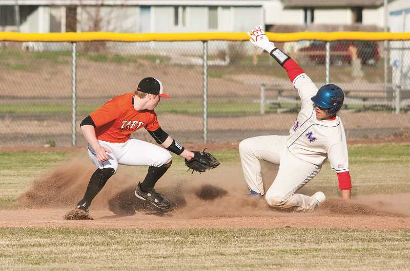 PIONEER FILE PHOTO - The Buffs will need Kanim Smith to provide a steady bat once again after he hit .425 with 14 extra-base hits and 21 runs batted in last season. He sufferred a right knee injury in the last game of the 2016 season, and said he's still not 100 percent yet.