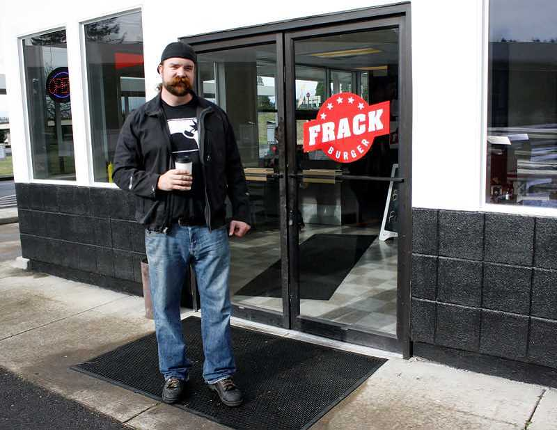Frack Burger owner in trouble again