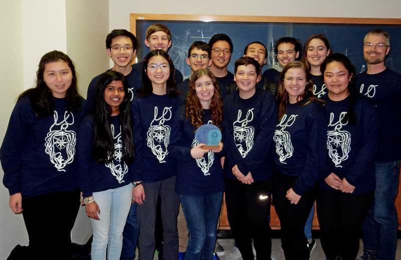 SUBMITTED PHOTO - Lake Oswego High School took three teams to a National Ocean Sciences Bowl event.