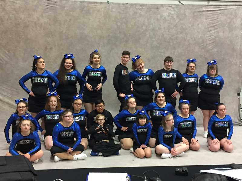 SUBMITTED PHOTO: TIFFANIE QUATRARO - The ODT Inspire team wants your help to get to a national cheer event.