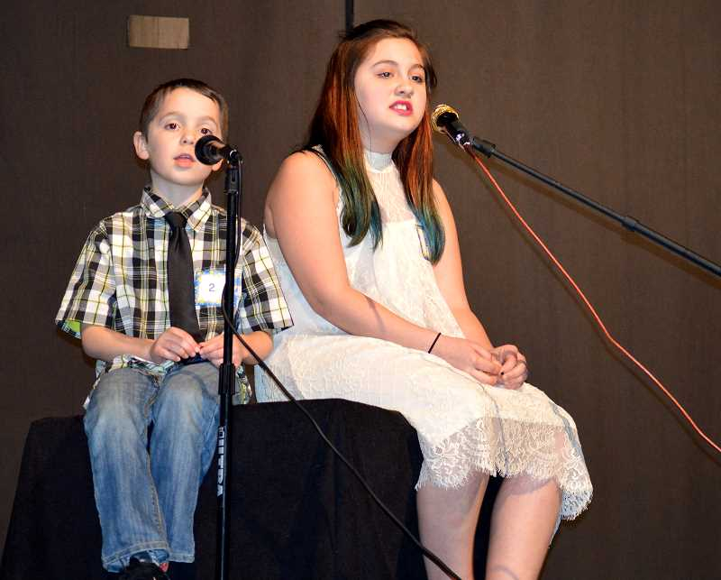 PIONEER PHOTO: CINDY FAMA - Ben Crowe and Dahlia Lee perform Imagine Dragons' 'Demons' at the eighth annual Stars on Stage