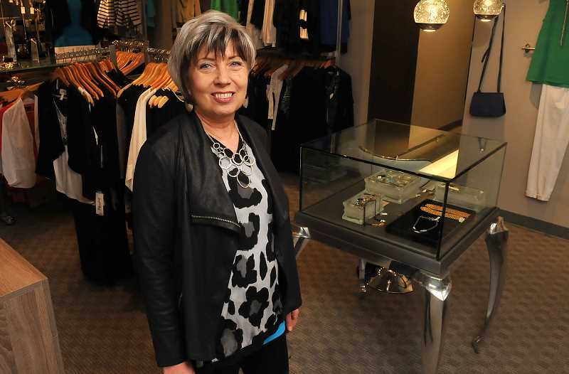 STAFF PHOTOS: VERN UYETAKE  - Pam Magnusson is one of several style experts costumers can work with at The Difference who help women create style plans that match the images they wish to portray.