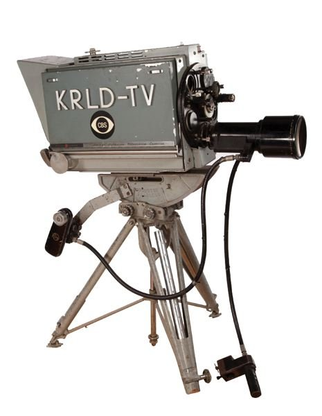 COURTESY: OREGON HISTORICAL SOCIETY - It's the CBS news camera used to film the transfer of accused Kennedy assassin Lee Harvey Oswald.
