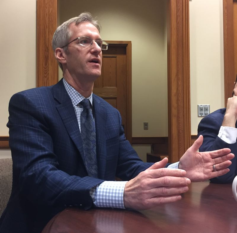 PAMPLIN MEDIA GROUP: VANCE W. TONG - Mayor Ted Wheeler sits down for an exclusive interview with the Business Tribune.