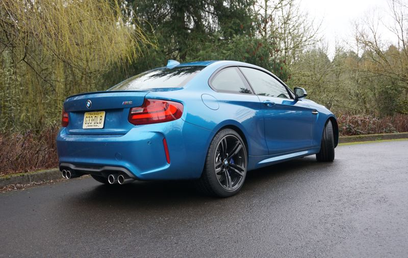 PORTLAND TRIBUNE: JEFF ZURSCHMEIDE - The 2017 BMW M2 makes a strong statement, coming and going.