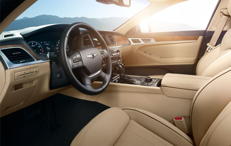 GENESIS AMERICA - The interior of the 2017 Genesis G80 is roomy, comfortable and loaded with the latest technologies.