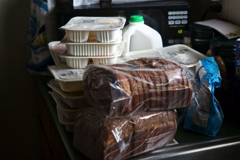 TRIBUNE FILE PHOTO - Meals prepared by the Meals on Wheels People could face big cuts in President Trump's proposed budget.