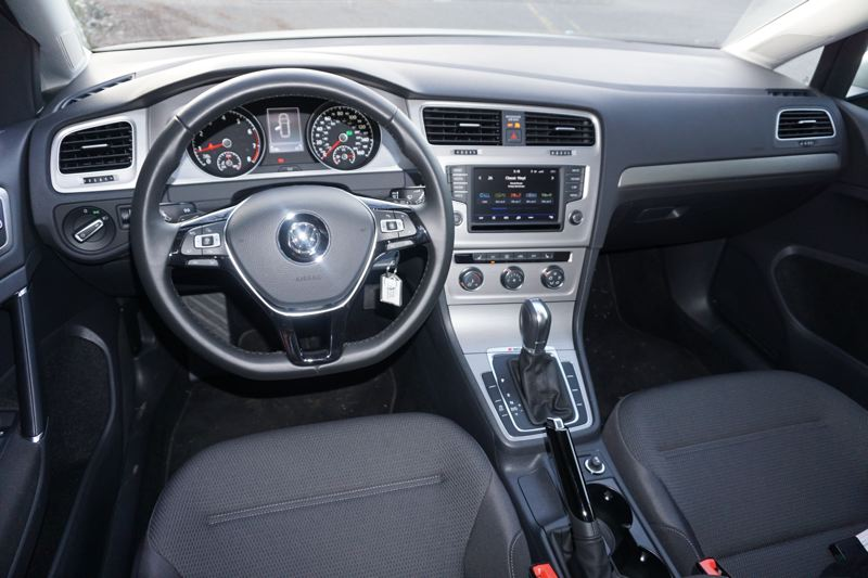 PORTLAND TRIBUNE: JEFF ZURSCHEIDE - Inside, the 2017 Sportwagen is functional, but not cheap. If you buy the higher trim levels, you can get a little more luxury, but the real appeal is its affordability.