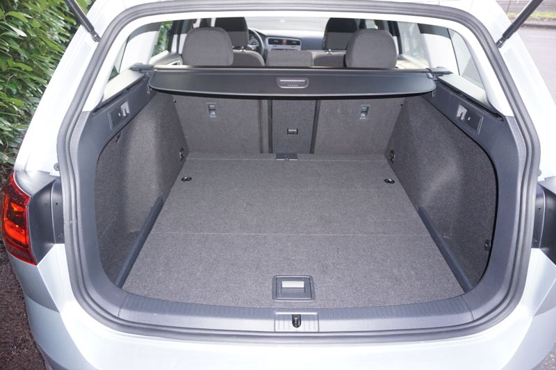 PORTLAND TRIBUNE: JEF ZURSCHMEIDE - You can transport four adults in plenty of comfort in the 2017 Sportwagen, or drop the rear seats for a trip to the home supply store.
