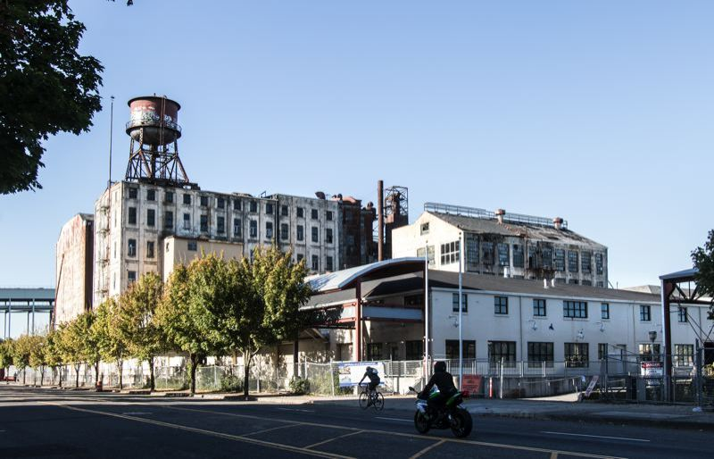 PORTLAND TRIBUNE: JONATHAN HOUSE - This is what Centennial Mills looked like in 2015. Not much of it is left anymore, and the rest will be demolished if the Coty Council approves the Portland Development Commission's recommendation on Wednesday.