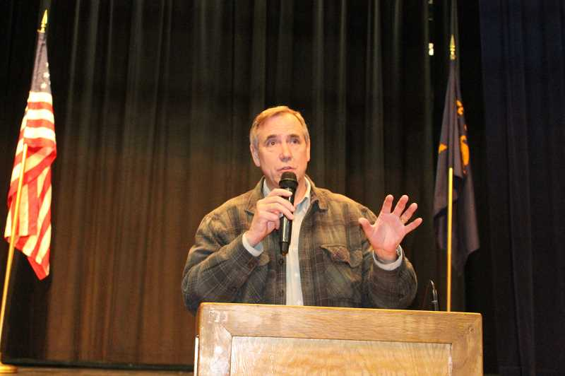 Health care, rural issues lead Merkley town hall forum