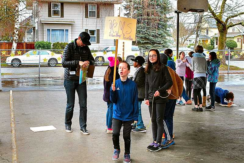 Llewellyn Elementary's student voyagers hold 'Sailing Day'