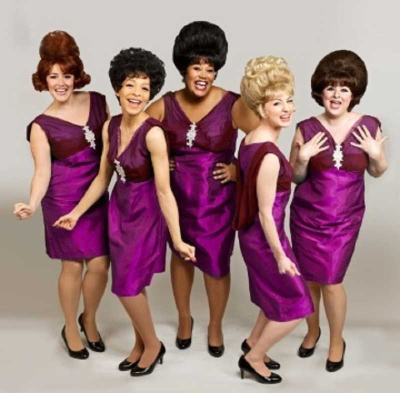 BROADWAY ROSE THEATRE COMPANY: CRAIG MITCHELLDYER - These five ladies with the big hair have a grand time singing both soul and pop music in 'Beehive,' which offers a flashback to the fabulous female singers of the '60s.