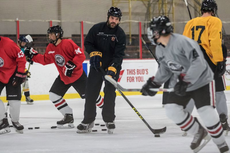 TRIBUNE PHOTO: JONATHAN HOUSE - Paul Gaustad wants to give back to the youth hockey community that helped him have a long pro career.