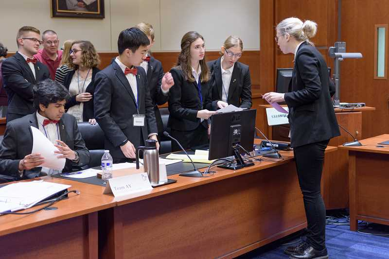 LOHS, Lakeridge make their case at state Mock Trial competition