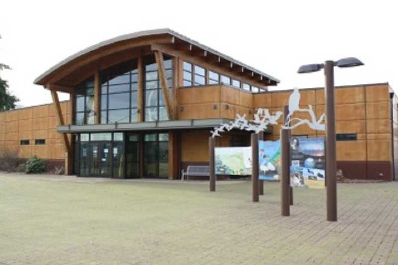 FOR THE REGAL COURIER: PAM FARRIS - The Tualatin River National Wildlife Refuge Visitors' Center offers both indoor activities and stunning views of the refuge.