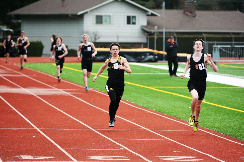 Indians, Lions track and field trade wins in season opener