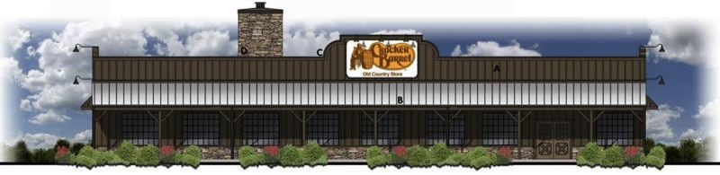 Opening date for Cracker Barrel set for April 17