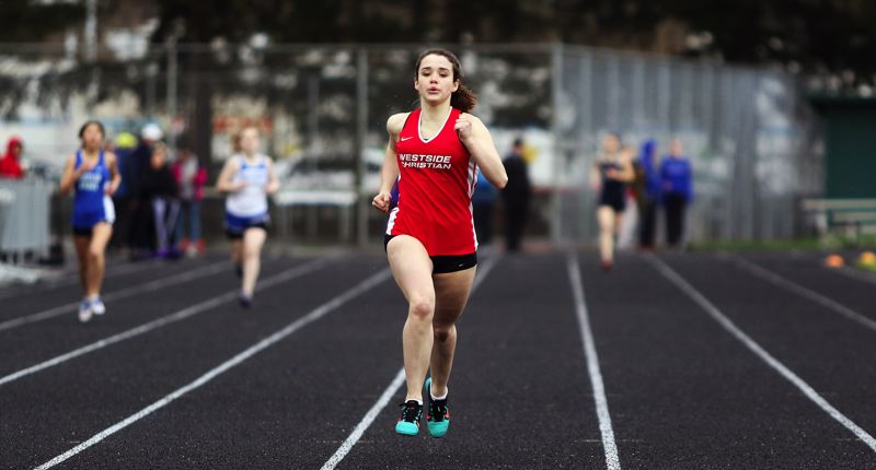 Lydia Pololny, Westside Christian track teams get off to fast start