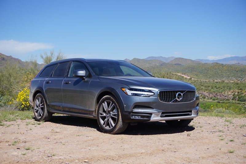 PORTLAND TRIBUNE: JEFF ZURSCHMEDIE - The V90 Cross Country is far more than an appearance package. You get 8.3 inches of ground clearance, which is enough to drive on 99 percent of the roads where you would take an SUV.