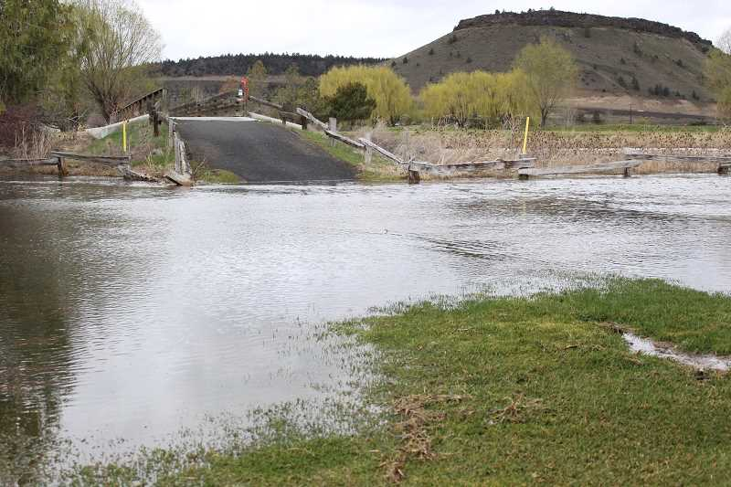 Waterways rising, flooding due to melting snowpack