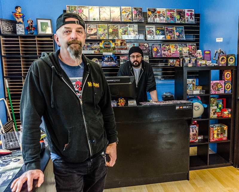 HILLSBORO TRIBUNE PHOTO: CHASE ALLGOOD - New comicbooks are released every Wednesday at the shop.
