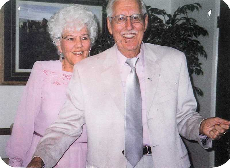 COURTESY PHOTO - Lorrine and Leonard Shipley were a fun-loving couple, according to their daughter, Linda Kintz. Married in 1943, their romance lasted 74 years before they died a day apart March 13 and 14.