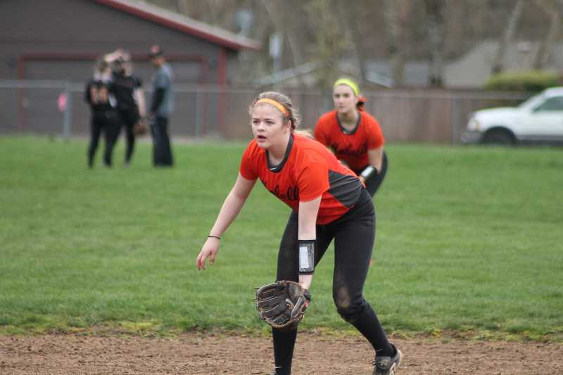 Molalla softball edges past Cascade 13-12 in home opener Thursday
