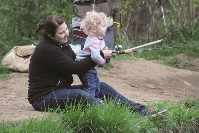 Family Fishing action coming to Shorty's Pond