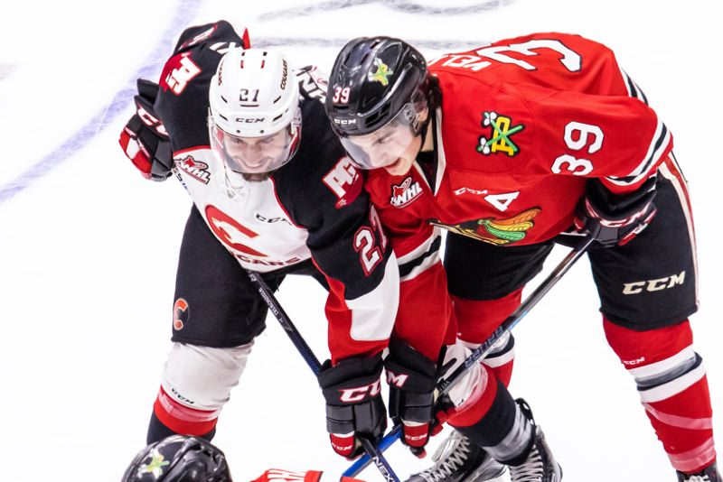 Winterhawks open playoffs with win