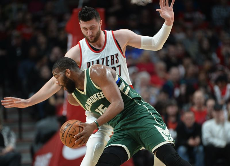 PORTLAND TRIBUNE: JOSH KULLA - Trail Blazers center Jusuf Nurkic is the son of a police officer who is almost as tall, and larger, than Portland's latest basketball phenomenon.