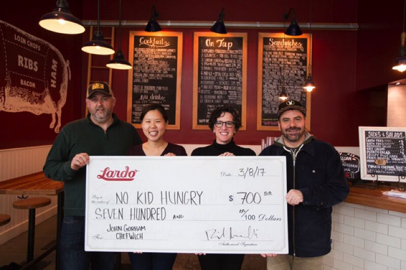 COURTESY PHOTO - Local chefs have been working with Jason French of Ned Ludd on various efforts to raise awareness of the hunger crisis in Oregon and across the U.S.